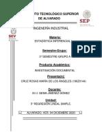 ESTIMACIÓN Y PREDICCIÓN POR INTERVALO EN REGRESIÓN LINEAL SIMPLE.