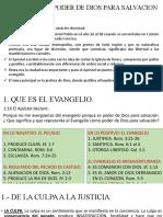 EL EVANGELIO PODER DE DIOS PARA SALVACION.pptx