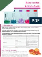 Unidad 07 - Reacciones ácido-base