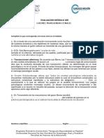 Evaluacion Modulo 205