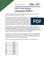 Ohio Travel Advisory 12/2/2020