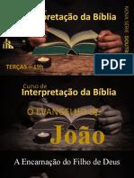 Curso de Interpretação Bíblica - CONVITE