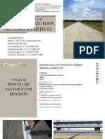 Pavimentos Unidad III Diseño de Pavimentos Rígidos