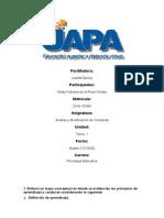 Analisis y Modificacion de Conduta Unidad 1 (2)
