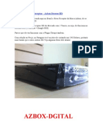 Novo Receptor - Azbox Bravoo HD