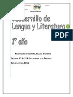 Cuadernillo lengua primer semestre (Reparado)