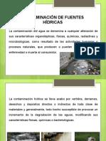 MODULO V CONTAMINACIÓN DE CUENCAS HÍDRICAS
