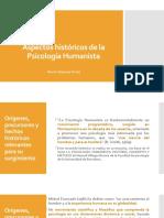 ASPECTOS HISTÓRICOS DE LA PSICOLOGÍA. HUMANISTA (1)