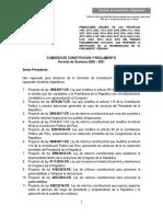 Sexto Texto Sustitutorio Bicameralidad, 02.12.2020