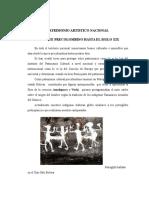 PATRIMONIO ARTISTICO NACIONAL