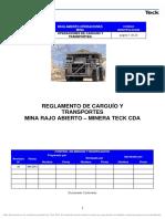 D-98-Reglamento de Carguio y Transporte Teck CDA