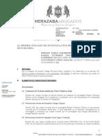 OFRECIMIENTO DE PRUEBA │ 1 JUZGADO DE INVESTIGACION PREPARATORIA