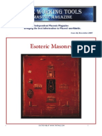 Sigler, Cory (Edit.) - The Working Tools Magazine - Esoteric Freemasonry Edition