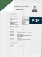 Cluber Fernando Aliaga Lodtmann asumió la cartera del Ministerio del Interior