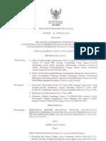 Peraturan Menteri Keuangan Nomor