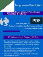 L02a Polisi & Dasar Pendidikan di Malaysia