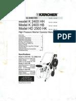 Karcher G 2400 HH