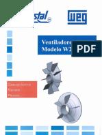 WEG - VENTILADORES para Motores W21 - W22