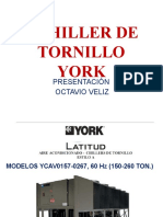 1 CHILLER DE TORNILLO YORK