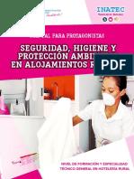 MANUAL SEGURIDAD HIGIENE Y PROTECCION AMBIENTAL EN ALOJAMIENTOS RURALES