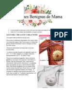 afecciones mamarias benignas