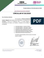 CIRCULAR 20 - Reunión Rectores (TS - FD).pdf