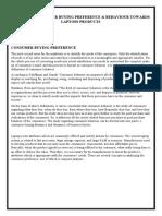 Marketing Analytics Assignmnet