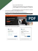Uso OneDrive para entrega de tareas