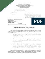 Urgent Motion to Reset (Amparo Salvador).docx