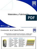Flexible Pipeline - (Spanish) Materials, Fabrication, Testing & Arcillary