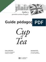 A CUP OF TEA CE2