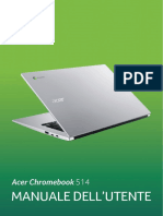Manuale Acer Chromebook 514