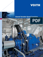 Voith - Geared Variable Speed Couplings