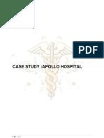 Apollo Hospital Case Study