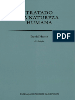 o tratado da natureza humana David hume
