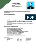 (Engr Iftikhar Ahmad Resume pdf)