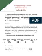 Strategic Cost Management Sep 2020
