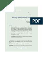 Imperativos pretéritos no português brasileiro