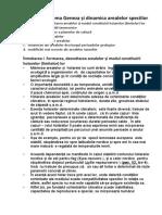 Tema Geneza și dinamica arealelor speciilor 1