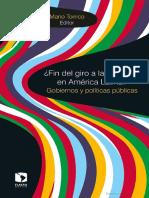Torrico, Mario - ¿Fin del giro a la izquierda en América Latina_ Gobiernos y políticas públicas-Facultad Latinoamericana de Ciencias Sociales, Sede México (2017)