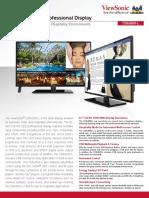 42 inche Full HD Pro Display