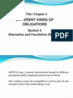 Articles 1199-1206 (Alternative and Facultative Obligations) - Copy