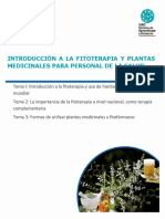 Material de Estudio Fitoterapia y Plantas Medicinales