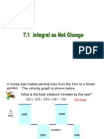 Lecture 4.3 Integral as Net Change
