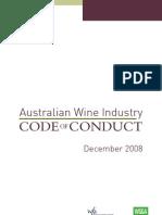 AUSTRALIAN WINE INDUSTRY CODE OF CONDUCT