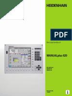 Инструкция пользователя MANUALplus 620