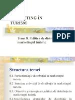 Tema 9 Politica de distributie turism