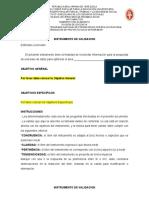 Instrumento de Validación de Proyecto SocioIntegrador del IV mayo 2020