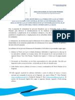 FORMATO INFORME DEL MONITOREO A LA FORMACIÓN A LOS ACTORES EDUCATIVOS DIRECCIÓN GENERAL DE EDUCACIÓN PRIMARIA PARA LA APLICACIÓN DE LAS ACCIONES PEDAGÓGICAS CO.docx