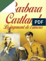 Le jugement de l'amour - Barbara Cartland